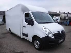 VAUXHALL MOVANO F3500 LOW LOAD BOX WITH TAIL LIFT White Manual Diesel, 2014