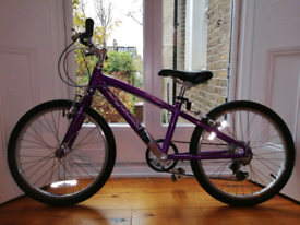 Lightweight child's Ridgeback 20 bike
