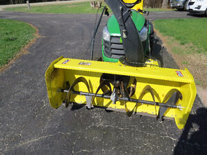 44 inch snow biower for john deere D SERIES LAWN TRACTOR
