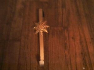 Fibre Optic Santa Claus Tree Topper/Wreath and Wreath Hanger St. John's Newfoundland image 2