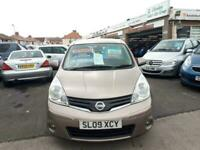 2009 Nissan Note 1.6 Acenta Automatic 5-Door From £3,895 + Retail Package MPV Pe