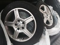 Tires 205/55/16 AMG