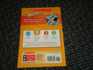 Scholastic Reader Level 1: Hot Wheels: Shark Attack Paperback Kingston Kingston Area image 2