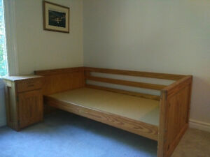 Twin Day Bed with Trundle from Crate Designs London Ontario image 1