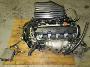 01 02 03 04 05 HONDA CIVIC 1.7L VTEC ENGINE 5SPEED TRANS JDM D17