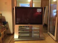 "42"" Panasonic HD Ready Plasma TV with stand"