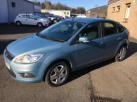 5808 Ford Focus 1.6 100ps Style Blue 5 Door 60141mls MOT 12m