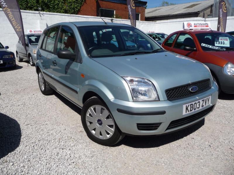 2003 Ford Fusion 2 1 6 5 Door 12 Month Mot Ew Cd Cl