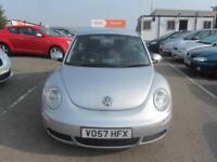 2007 Volkswagen Beetle Hatch 3Dr 1.4 16V 75 Luna Petrol silver Manual