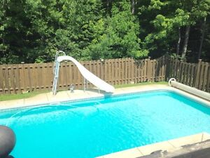 Great location , beautiful heated in ground pool