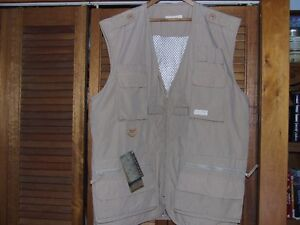 Mens, fisherman or Photographers khaki vest