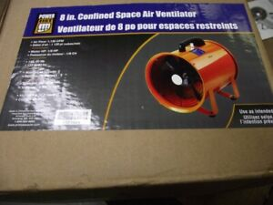 8'' CONFINED SPACE AIR VENTILATOR