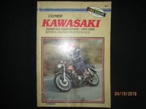 KAWASAKI KZ400, KZ/Z440, EN450 1974-1990 SERVICE REPAIR MANUAL