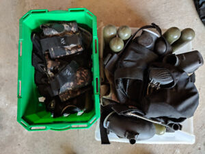 Leftover Paintball Gear - Miscellaneous Lot