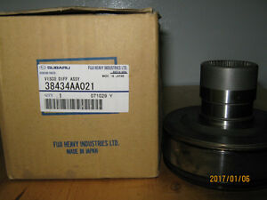 Subaru 4x4 viscous coupling