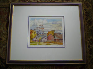 """Initialed A.J. Casson-""""Old Farm House""""-Limited Edition Print-"""