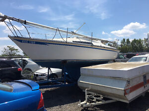 1976 Yanmar Sundance 23 ft and trailer for sale at Pic N Save!