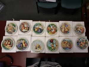 Bradford Exchange Winnie-The-Pooh Collector Plate Collection