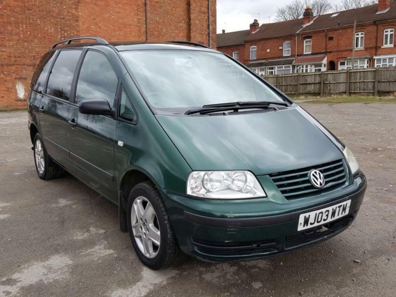 2003 volkswagen sharan 1 8 t se 5dr in yardley west midlands gumtree. Black Bedroom Furniture Sets. Home Design Ideas