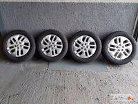 "17"" Genuine New Model Renault Trafic Alloy Wheels & Tyres"