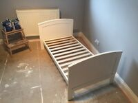 Childrens wooden bed