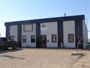 SHOP WITH OFFICES-GREAT LOCATION