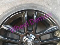 "X1 Vauxhall Corsa D 17"" Limited Edition Spare Alloy Wheel - Black 9272760 OP035"