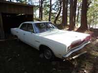 1969 Plymouth Sport Satellite 4 door sedan