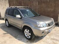 2007 Nissan X trail 2.2 dci Columbia 2 Owners *Sat Nav* *Pan Roof* 12 Month Mot, 3 Month Warranty
