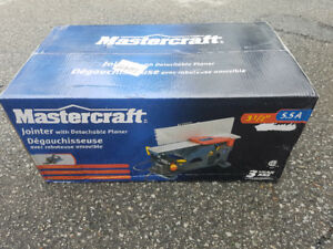 Mastercraft Flip Jointer/Planer brand new in box
