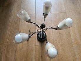 Silver Ceiling Light Chandelier - Free