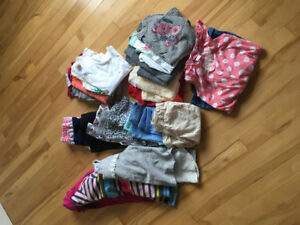 Girls clothing size 6/7
