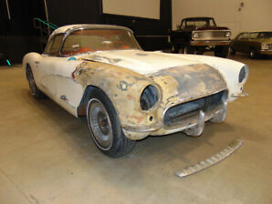 1957 Chevrolet Corvette Convertible All Original BARN FIND