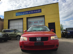 2005 Nissan Sentra Special Edition,SAFETY,CLEAN TITLE, 93000KM!!