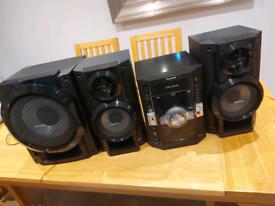Panasonic hifi music system SA-AK770
