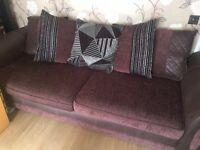 DFS 4 seater sofa & a large 2 seater sofa