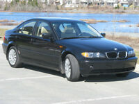 2004 BMW 3-Series Black Sedan