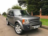 Land Rover Discovery 3 2.7TD V6 Auto 2008 (57) HSE Leather SAT NAV