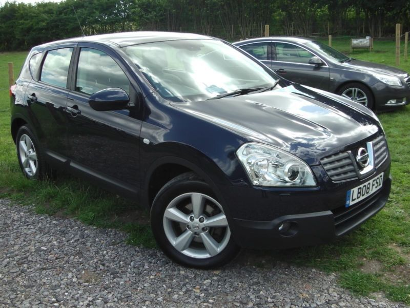 2008 nissan qashqai tekna dci 4wd automatic 4x4 diesel. Black Bedroom Furniture Sets. Home Design Ideas
