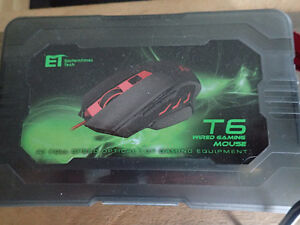 Brand new T6 gamer mouse (wired)