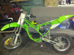 Looking for 98 Kawasaki kx 80 parts 85 and 100 kx parts may work