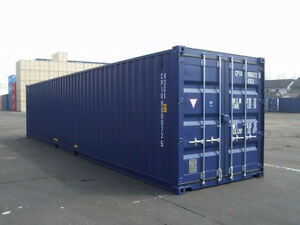 Storage sea containers