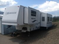 5th wheel trailor in great condition