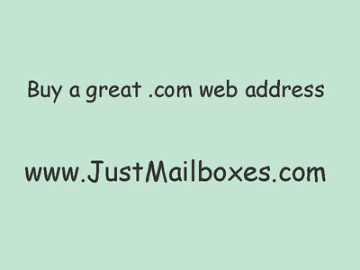 Mailbox Store Domain Name For Sale - Justmailboxes.com