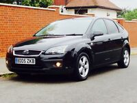 FORD FOCUS 1.6 ZETEC 2005 LOW MILEAGE FSH 1YRS MOT CLEAN&TIDY JUST SERVICED 3 MONTHS WARRANTY