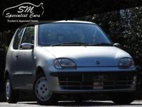 2002 52 FIAT SEICENTO 1.1 SX 3D 54 BHP