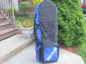 Top FliteTravel Golf Bag Cover Padded with Carrying Strap