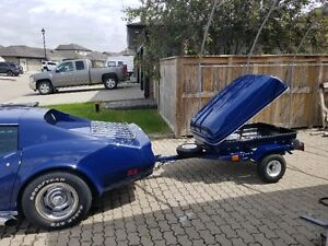 Small motorcycle or car/ hot rod trailer