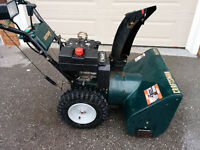 Excellent Working Craftsman Snowblower NEW ENGINE!!