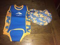 Konfidence babywarma swim suit and swim nappy